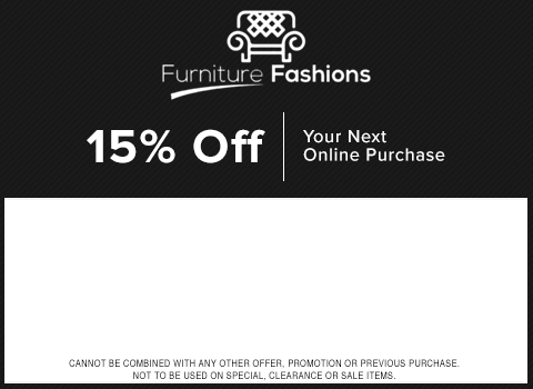 15  OFF. Furniture Fashions Coupons